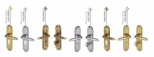 Heritage Brass-HEN12-Henley Design Poignée Porte-Laiton Massif matériel