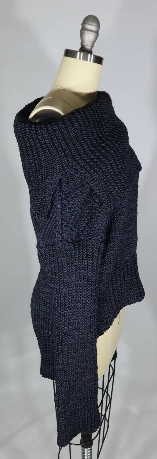 MS MIN 4/S US  Heavy Chunky Knit Off The Shoulder… - image 2
