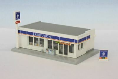 ROKUHAN Z-scale S049-3 Convenience Store Gray 1//220 scale