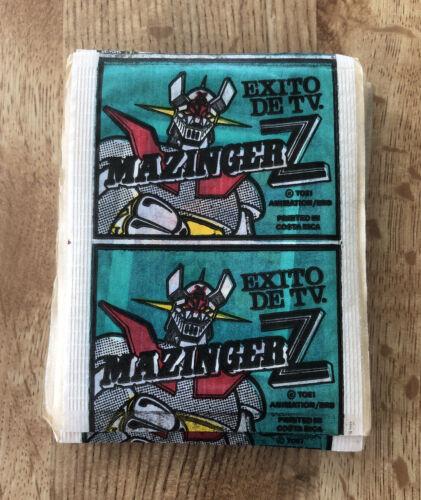 MAZINGER Z Mini Panini Type Costa Rica UNOPENED SINGLE CARD Packs Toei Animation