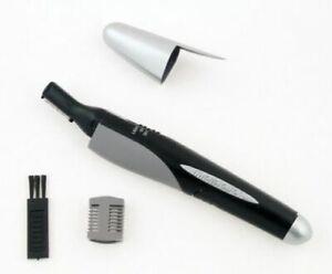 Mini Rasoio Microtouch Micro Touch Elettrico Regola Barba Basette Naso Uomo