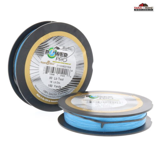 Power Pro Braided Fishing Line 80lbs 150yds Blue ~ New 2