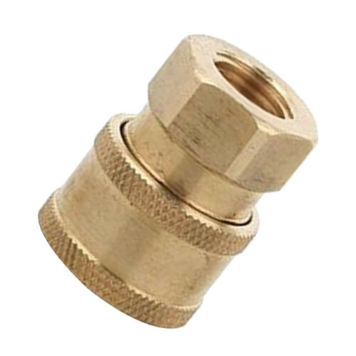 Quick Release Connector Coupler Fitting for High Pressure Washer Gun Hose3.2cm