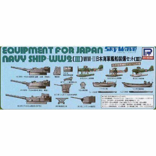 Pit-Road Skywave E-03 Equipment for Japan Navy 3 1//700