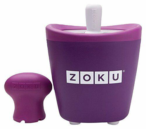 Zoku - Quick Pop Maker Singolo per Ghiaccioli Immediati - VIOLA (K4A)