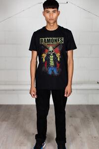 Official-Ramones-Gabba-Gabba-Hey-Pinhead-Unisex-T-Shirt-Licensed-Merch