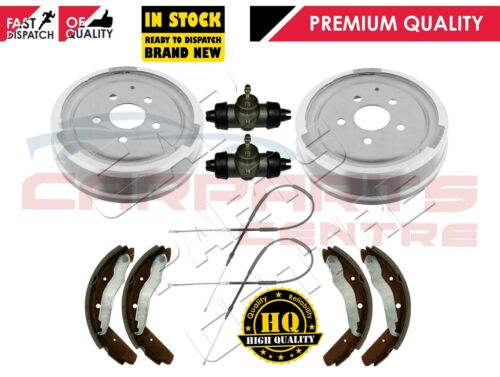 FOR VW CAMPER TRANSPORTER T3 T25 REAR BRAKE DRUMS CYLINDERS SHOES CABLES 80-90