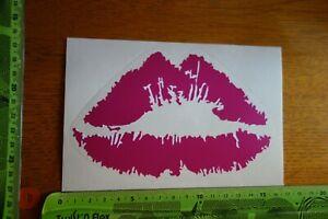 Alter-Aufkleber-Comic-Cool-Erotik-Sex-Mund-Lippen