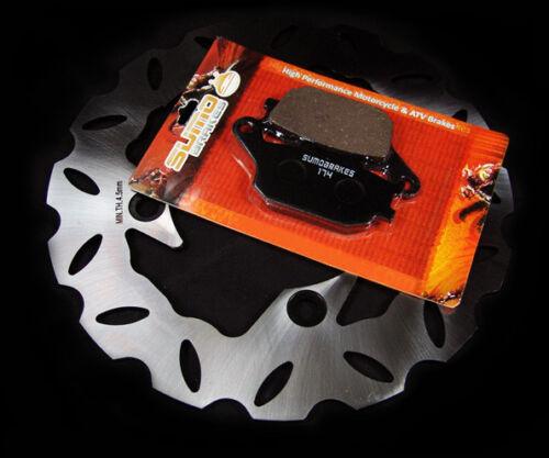 00-03 Honda Rear Brake Rotor Pads CBR 900 RR Fireblade 929 /& 954 RR 92-99