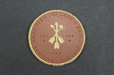 AnpassungsfäHig Meissen Medaille Brigade Graf Pfeil 46.landwehr Brigade Diversifizierte Neueste Designs