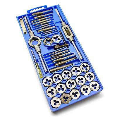 Juego machos roscar terrajas 40PC Establece métricas M3 M12 rosca reparación