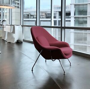 Swell Details About Knoll Womb Chair Magenta Mohair Excellent Used Condition Machost Co Dining Chair Design Ideas Machostcouk