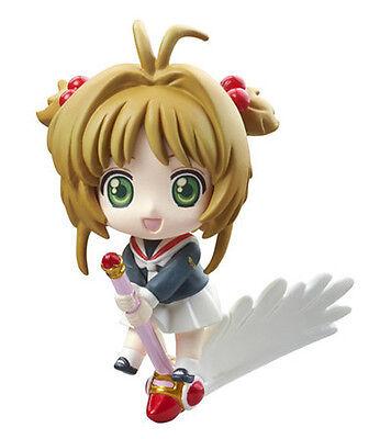 Card Captor Sakura School Uniform Petit Chara Land Trading Figure NEW
