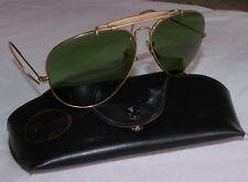 lunettes de soleil vintage Ray-Ban Aviator  barre anti sueur+étui