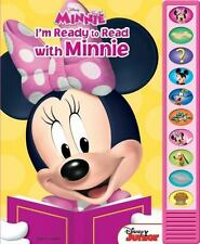 I'm Ready to Read with Minnie (2013, Hardcover)