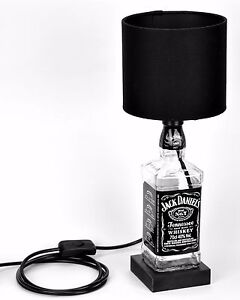 Jack daniels jd bottle lamp with black light shade fathers day image is loading jack daniels jd bottle lamp with black light aloadofball Gallery