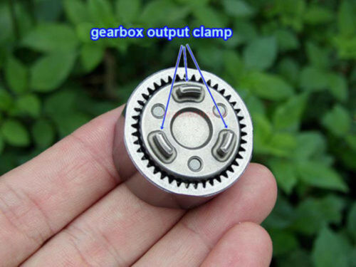 1pcs Three-stage Planetary Gearbox Speed Reduction Reducer 1:20 for Gear Motor