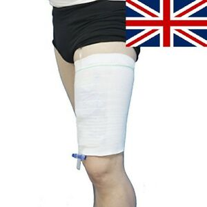 Image Is Loading Urisleeve Urine Leg Bag Sleeve Catheter