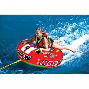 1-Person-Ace-Racing-Tube-Towable-Water-Tubing-Inflatable-Pool-Lake-Water-Sports