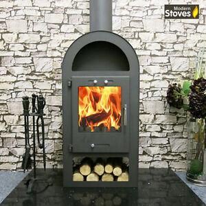 Henley Stove 10kw Wood Burning Multi Fuel Wood Burner Modern Stoves
