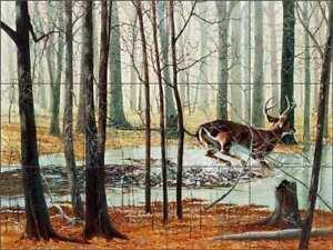Deer-Tile-Backsplash-Robert-Winks-Wildlife-Art-Ceramic-Mural-REB017