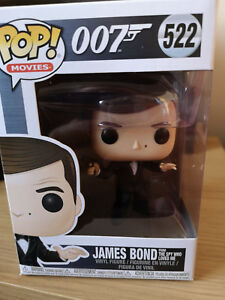New Funko Pop Movies 522 James Bond 007 James Bond From The Spy Who Loved Me