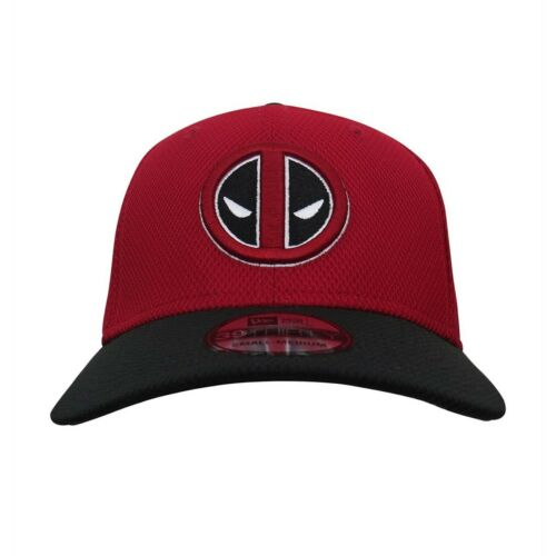 Deadpool Symbol Red /& Black 39Thirty Fitted Hat Red
