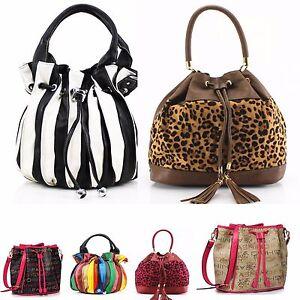 LeahWard Women s Designer Drawstring Bags Ladies Shoulder Handbags ... 9ddc4826e