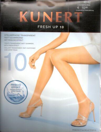 teint I IV candy cashmere FRESH UP 10 Kunert Strumpfhose Gr