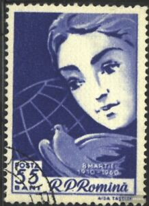 Rumaenien-1839-kompl-Ausg-gestempelt-1960-Internationaler-Frauentag