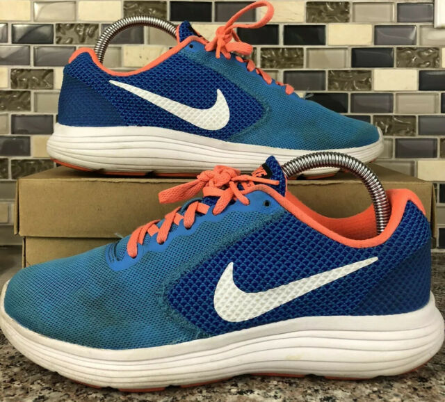 Nike Revolution 3 819303-402 Sz 8 M