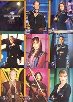 Babylon 5 Season 4 1998 Skybox Complete Parallel Base Card Set Of 81 Language Tv