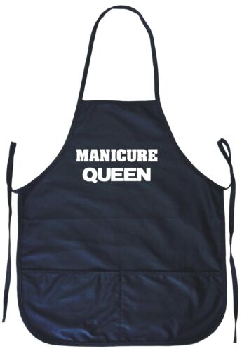 Manicure Queen Cooking Apron With Pockets
