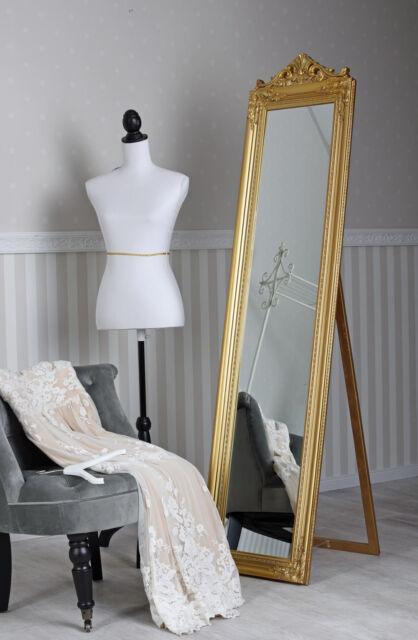 328907eb049de Standing Mirror Dressing Baroque Floor Rectangular Gold for sale ...