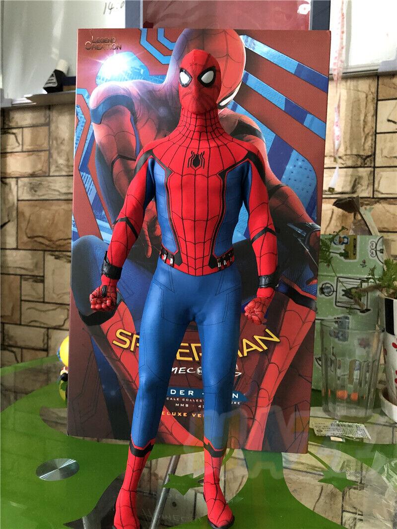 Marvel Spider-Man  Homecoming 1 6 Figur Modelll Deluxe Ver. Spielzeug Neu im Karton
