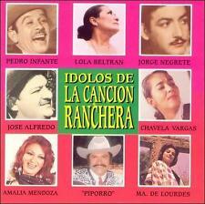 Idolos De La Cancion Ranchera, Pedro Infante - Jorge Negrete - Lola Beltran, - A