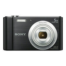Sony Cyber-shot DSC-W800 20.1MP Digital Camera 5x Optical Zoom Black
