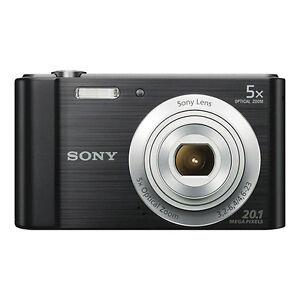 Sony-Cyber-shot-DSC-W800-20-1MP-Appareil-Photo-Numerique-Zoom-optique-5x-Noir