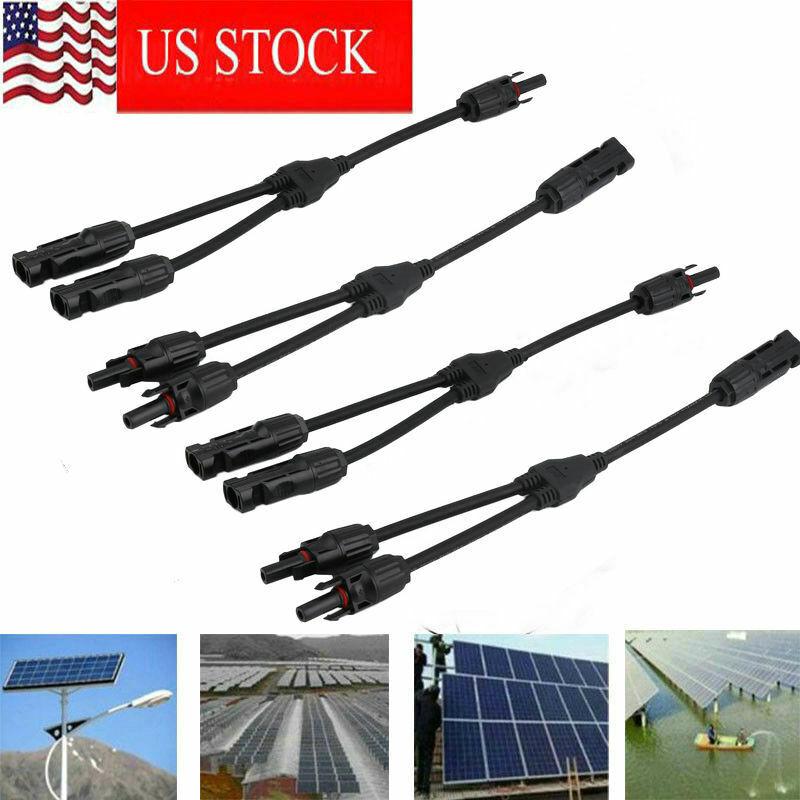 10 Pair TEMCo MC4 Y Branch Solar Panel 30A Connector MMF FFM Set Wire T Splitter
