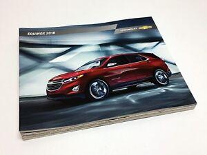 Image Is Loading 2018 Chevrolet Equinox Brochure