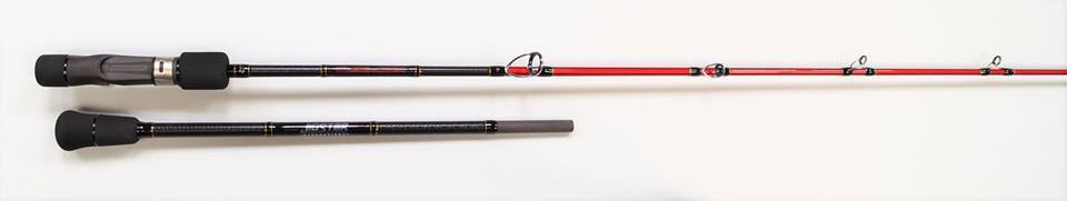 Jigstar Acid SlowJerk Spiral Guide Slow Jigging Rod 6ft3  (4 Rating Available)