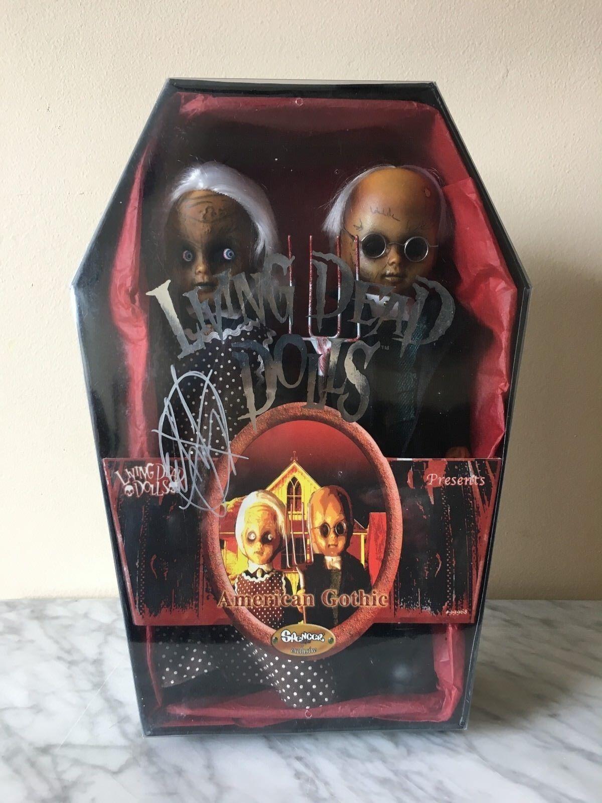 Living Dead Dolls American Gothic Ed largo firmado  Spencer's Exclusivo   Sellado
