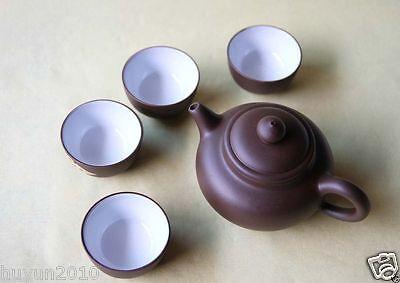 Chinese yixing zisha tea set--- one tea pot with four tea cups