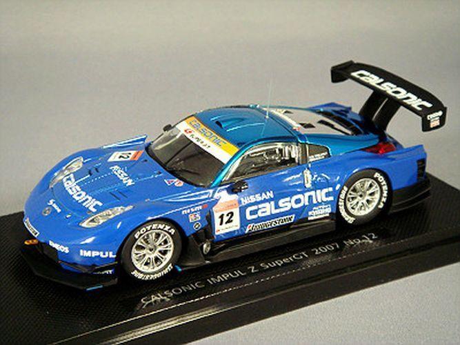 Ebbro 1 43 Calsonic Impul Z 2007 Super GT500  12 K. Hoshino  B. Treluyer