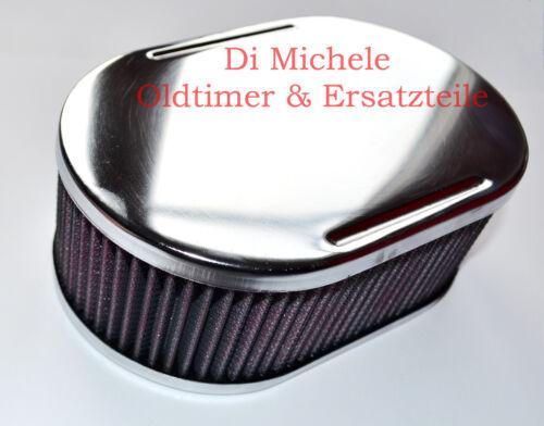 Luftfilter Air Filter oval,64mm 1-4 Stück DHLA Dellorto Vergaser ADDHE Solex
