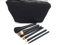 Mac Cosmetics Look In A Box Basic Brush Set With Cosmetics Bag
