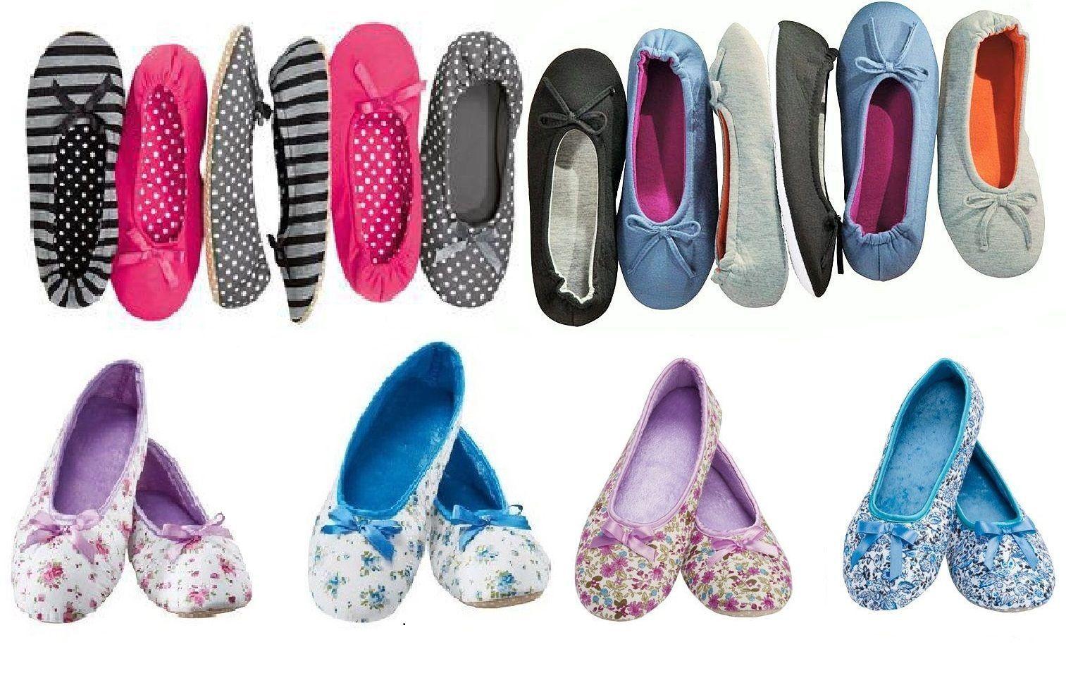Cómodo hausballerinas Bailarinas 36-41 Zapatillas Zapatos zapatillas Gr 36-41 Bailarinas 469898