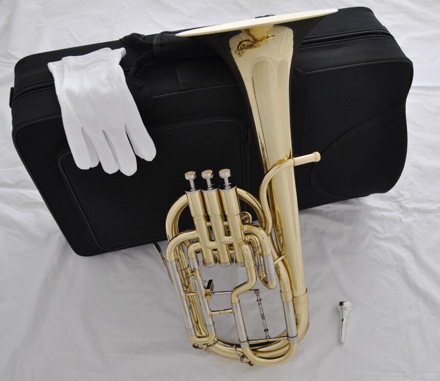 High grade Tuning slide trigger Eb 3 piston Alto horn with case