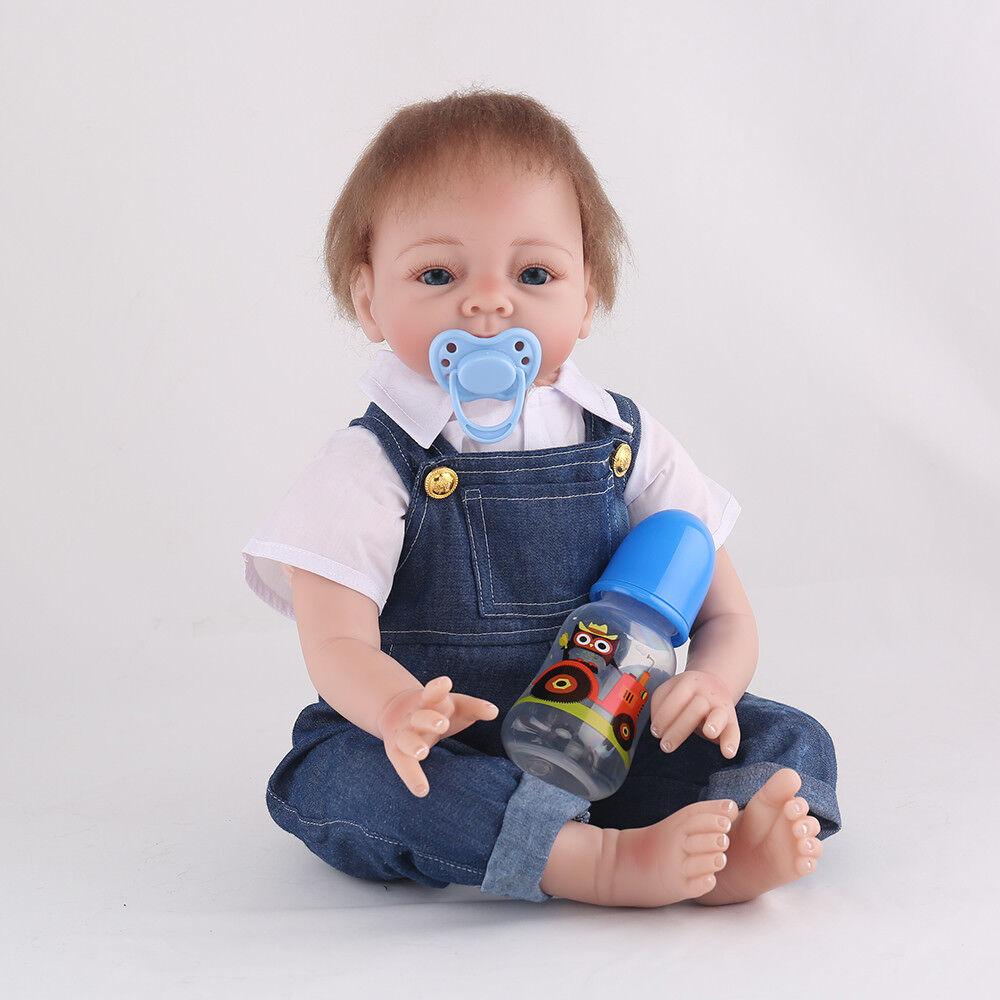 22   realistiche RINATO bambino bambola giocattolo BOY neonato vestiti Festival Festa Regali  ti renderà soddisfatto