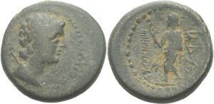 Phrygien Marathos Bronze 180-169 Hermes Kerykeion #2014.340 Münzen Altertum